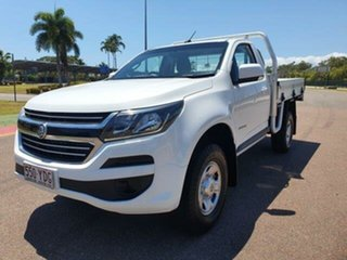 2018 Holden Colorado RG MY18 LS 4x2 White 6 Speed Sports Automatic Cab Chassis