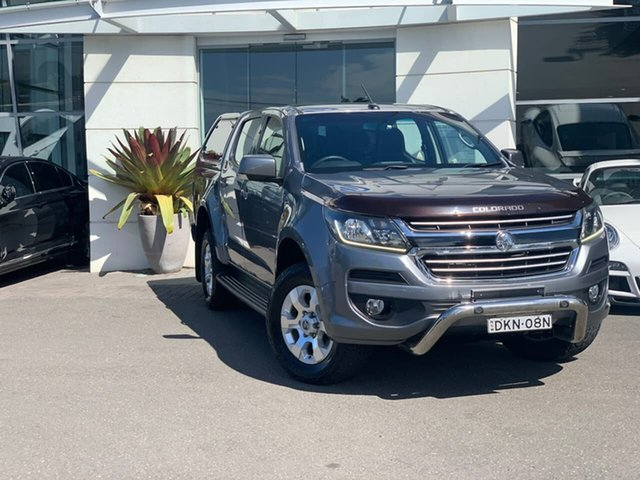 Used Holden Colorado RG MY16 LT Crew Cab Sutherland, 2016 Holden Colorado RG MY16 LT Crew Cab Grey 6 Speed Sports Automatic Utility