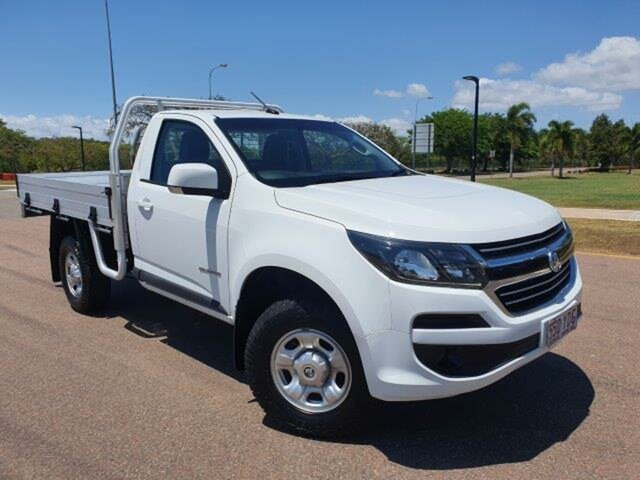 Used Holden Colorado RG MY18 LS 4x2 Townsville, 2018 Holden Colorado RG MY18 LS 4x2 White 6 Speed Sports Automatic Cab Chassis