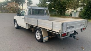 2009 Mazda BT-50 White 6 Speed Manual Cab Chassis.