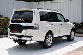 2017 Mitsubishi Pajero NX MY17 GLX Warm White 5 Speed Sports Automatic Wagon.
