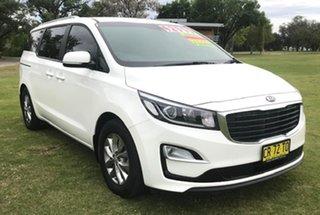 2018 Kia Carnival YP MY19 SI White 8 Speed Sports Automatic Wagon.