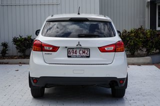 2013 Mitsubishi ASX XB MY13 2WD Starlight Black 5 Speed Manual Wagon