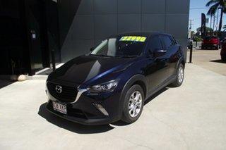 2017 Mazda CX-3 DK2W76 Maxx SKYACTIV-MT Deep Crystal Blue 6 Speed Manual Wagon