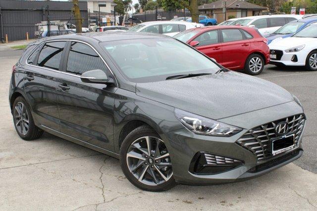 Used Hyundai i30 PD.V4 MY21 Ferntree Gully, 2021 Hyundai i30 PD.V4 MY21 Grey 6 Speed Sports Automatic Hatchback