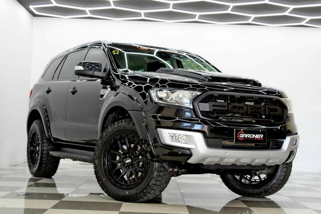 Used Ford Everest UA Trend Burleigh Heads, 2015 Ford Everest UA Trend Black 6 Speed Automatic SUV