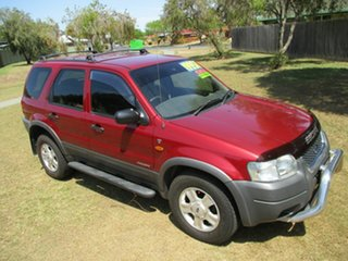 2003 Ford Escape BA XLT Red 4 Speed Automatic SUV