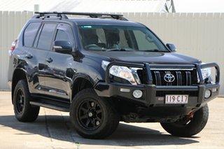2014 Toyota Landcruiser Prado KDJ150R MY14 GXL Dark Blue 5 Speed Sports Automatic Wagon.
