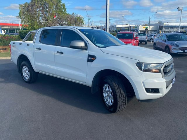 Used Ford Ranger PX MkII XLS Double Cab Morley, 2016 Ford Ranger PX MkII XLS Double Cab Cool White 6 Speed Sports Automatic Utility
