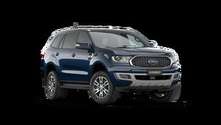 2021 Ford Everest UA II 2021.75MY Trend Deep Crystal Blue 10 Speed Sports Automatic SUV.