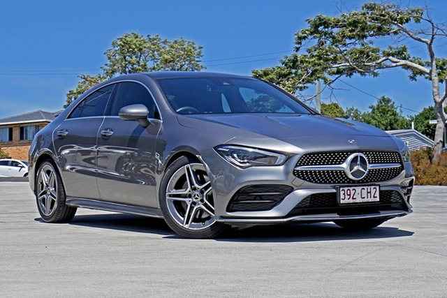 Used Mercedes-Benz CLA-Class C118 800MY CLA250 D-CT 4MATIC Capalaba, 2019 Mercedes-Benz CLA-Class C118 800MY CLA250 D-CT 4MATIC Grey 7 Speed Sports Automatic Dual Clutch