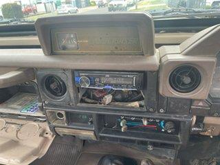 1996 Toyota Landcruiser HZJ75RP (4x4) White 5 Speed Manual 4x4 Cab Chassis