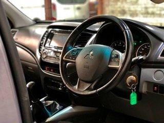 2016 Mitsubishi Triton MQ MY17 GLS Double Cab Grey 6 Speed Manual Utility