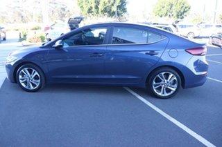 2017 Hyundai Elantra AD MY17 Elite Stargazing Blue 6 Speed Sports Automatic Sedan