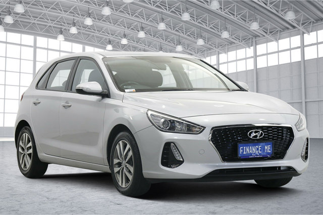 Used Hyundai i30 PD MY18 Active Victoria Park, 2018 Hyundai i30 PD MY18 Active Silver 6 Speed Sports Automatic Hatchback