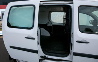 2015 Renault Kangoo X61 MY14 1.6 SWB Glacier White 4 Speed Automatic Van