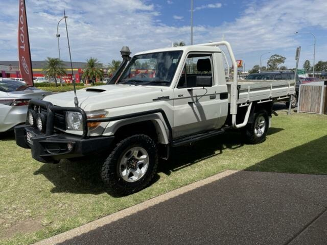 Used Toyota Landcruiser VDJ79R MY12 Update GX (4x4) Emerald, 2014 Toyota Landcruiser VDJ79R MY12 Update GX (4x4) 5 Speed Manual Cab Chassis