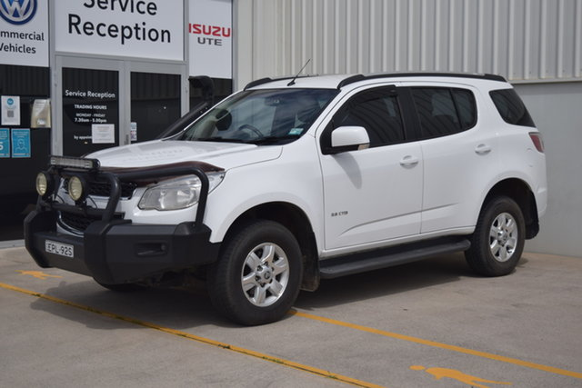 Used Holden Colorado 7 RG MY13 LT Rutherford, 2013 Holden Colorado 7 RG MY13 LT White 6 Speed Sports Automatic Wagon