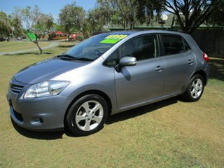 2009 Toyota Corolla ZRE152R Conquest Silver 6 Speed Manual Hatchback.