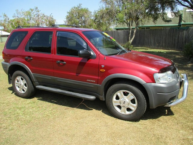 Used Ford Escape BA XLT Kippa-Ring, 2003 Ford Escape BA XLT Red 4 Speed Automatic SUV