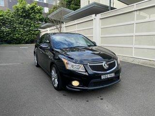 2014 Holden Cruze JH Series II MY14 SRi-V Black 6 Speed Sports Automatic Sedan.