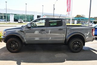 2020 Ford Ranger PX MkIII 2020.25MY Raptor Grey 10 Speed Sports Automatic Double Cab Pick Up.