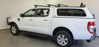 2018 Ford Ranger PX MkIII 2019.00MY XLT White 6 Speed Manual Utility