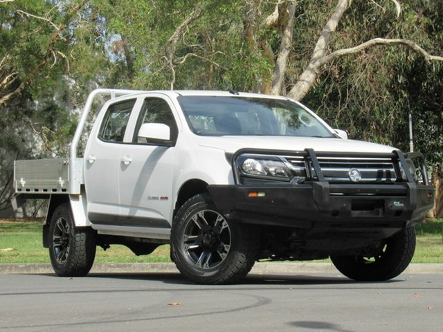 Used Holden Colorado RG MY18 LS Pickup Crew Cab, 2018 Holden Colorado RG MY18 LS Pickup Crew Cab White 6 Speed Sports Automatic Utility