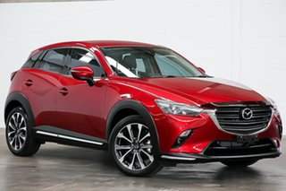 2019 Mazda CX-3 DK2W7A sTouring SKYACTIV-Drive FWD Red 6 Speed Sports Automatic Wagon.