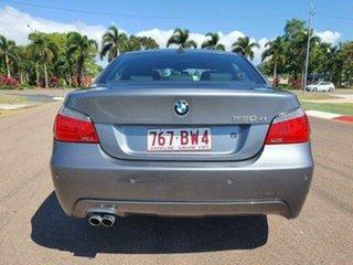 2008 BMW 5 Series E60 MY08 530d Steptronic Space Grey 6 Speed Sports Automatic Sedan