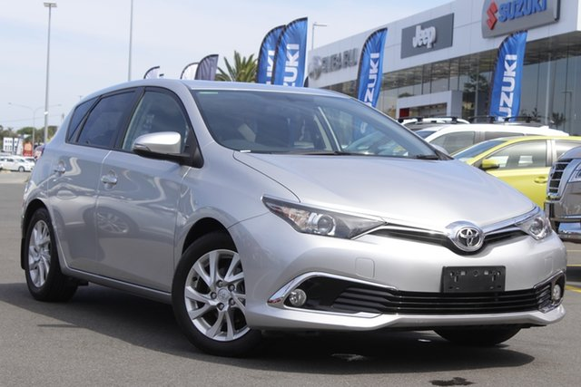 Used Toyota Corolla ZRE182R Ascent Sport S-CVT Aspley, 2018 Toyota Corolla ZRE182R Ascent Sport S-CVT Silver 7 Speed Constant Variable Hatchback
