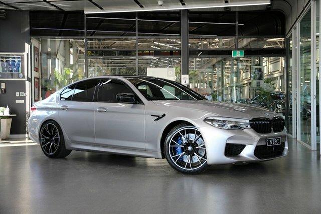Used BMW M5 F90 Competition M Steptronic M xDrive North Melbourne, 2019 BMW M5 F90 Competition M Steptronic M xDrive Grey 8 Speed Sports Automatic Sedan