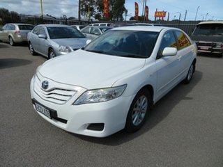 2010 Toyota Camry ACV40R 09 Upgrade Altise White 5 Speed Automatic Sedan.