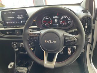 2021 Kia Picanto JA MY22 GT Clear White 5 Speed Manual Hatchback