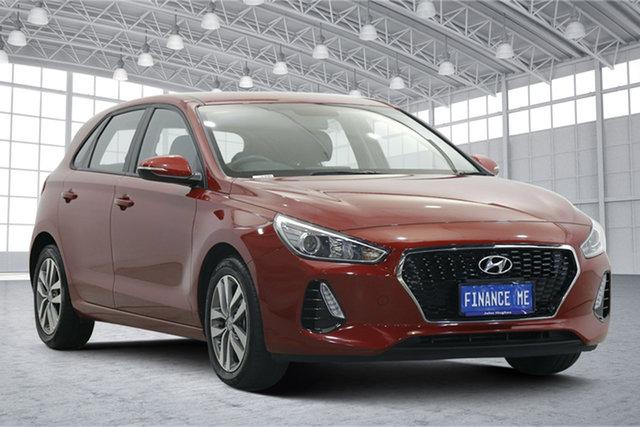 Used Hyundai i30 PD2 MY20 Active Victoria Park, 2019 Hyundai i30 PD2 MY20 Active Red 6 Speed Sports Automatic Hatchback