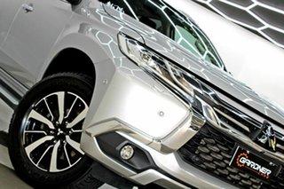 2016 Mitsubishi Pajero Sport QE Exceed (4x4) Silver 8 Speed Automatic Wagon.