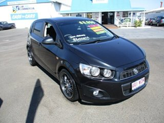 2012 Holden Barina CD Black 4 Speed Automatic Hatchback.