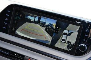 2021 Hyundai Sonata White Cream Manual SONATA (DN8) 4-DOOR