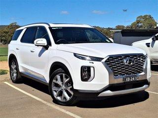 2020 Hyundai Palisade LX2.V1 MY21 Highlander AWD White 8 Speed Sports Automatic Wagon.