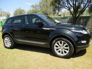2014 Land Rover Range Rover Evoque TD4 Black Automatic Wagon.