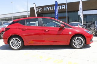2016 Holden Astra BK MY17 R Red 6 Speed Sports Automatic Hatchback.