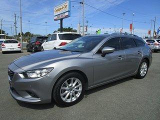 2013 Mazda 6 GJ1031 Touring SKYACTIV-Drive Grey 6 Speed Sports Automatic Wagon.
