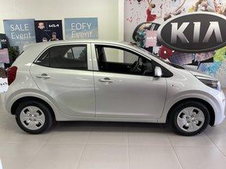 2021 Kia Picanto JA MY22 S Sparkling Silver 4 Speed Automatic Hatchback.