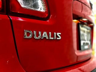 2012 Nissan Dualis J10W Series 3 MY12 Ti-L Hatch X-tronic 2WD Red 6 Speed Constant Variable