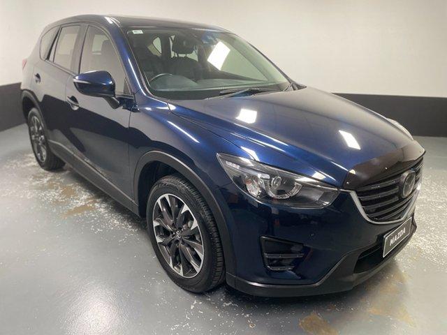 Used Mazda CX-5 KE1032 Akera SKYACTIV-Drive i-ACTIV AWD Hamilton, 2016 Mazda CX-5 KE1032 Akera SKYACTIV-Drive i-ACTIV AWD Blue 6 Speed Sports Automatic Wagon