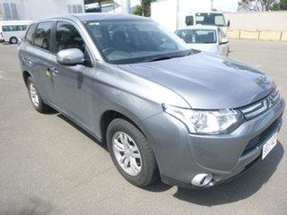 2012 Mitsubishi Outlander ZJ MY13 LS 2WD Grey 6 Speed Constant Variable Wagon.