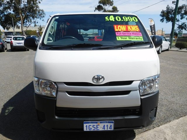 Used Toyota HiAce TRH201R LWB Wangara, 2019 Toyota HiAce TRH201R LWB White 6 Speed Automatic Van