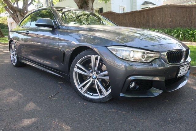 Used BMW 4 Series F32 428i M Sport Prospect, 2013 BMW 4 Series F32 428i M Sport Grey 8 Speed Sports Automatic Coupe