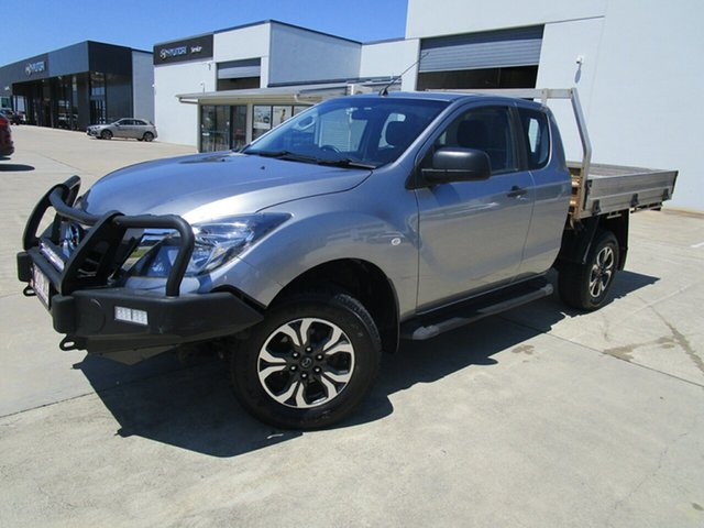 Used Mazda BT-50 UR0YG1 XT Freestyle Caboolture, 2017 Mazda BT-50 UR0YG1 XT Freestyle Silver 6 Speed Manual Cab Chassis