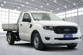 2020 Ford Ranger PX MkIII 2020.25MY XL Arctic White 6 Speed Manual Single Cab Chassis.